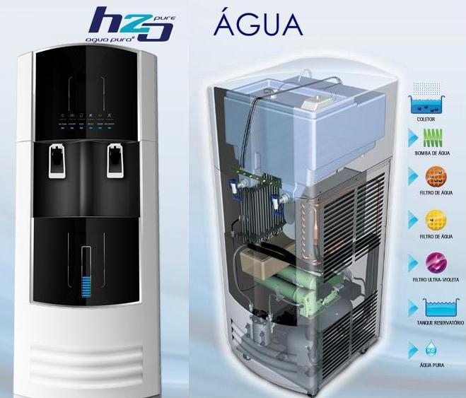 Uma m quina de fazer gua agua natureza e vida - Maquina de agua ...